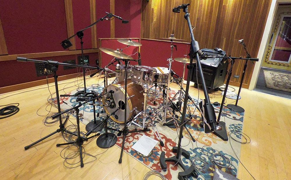 drums willie drum setup