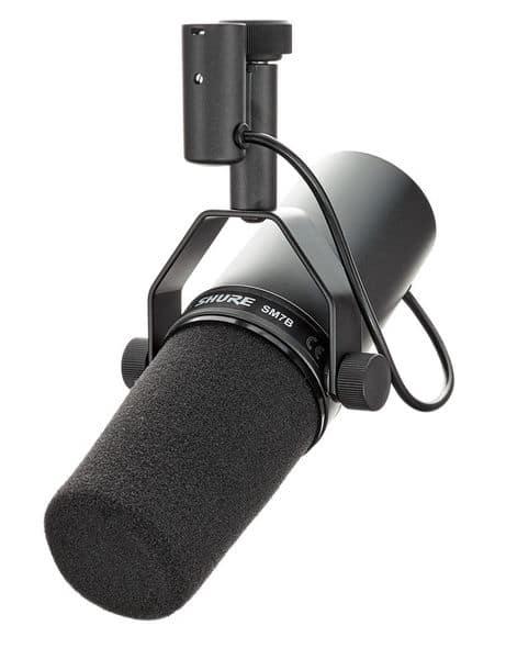 Rap Mikrofon: Shure SM7B
