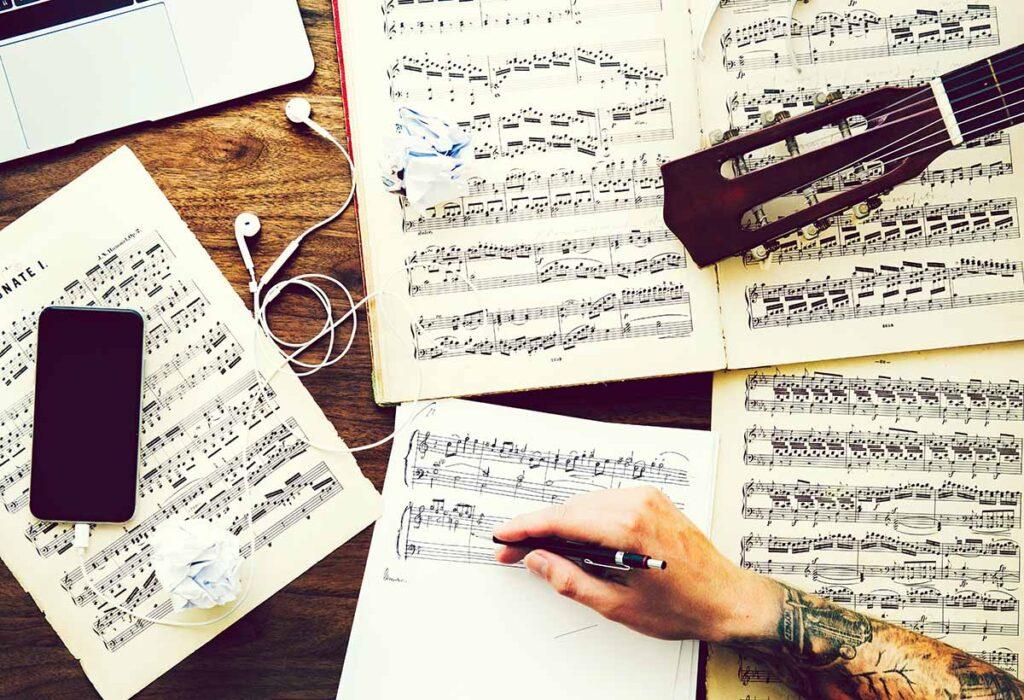 Es gibt keine Regeln beim Aufbau eines Songs